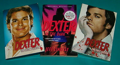 Dexter Seasons 1&2 DVD Lot And Book