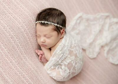 Stretch Lace Wraps Baby posing Prop Photography Props Newborn Swaddle
