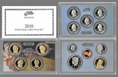 2010 S UNITED STATES us MINT 14 COIN PROOF SET ORIGINAL complete COA unsearched