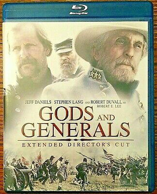 Gods and Generals - Extended Director's Cut (Blu-ray, 2003)