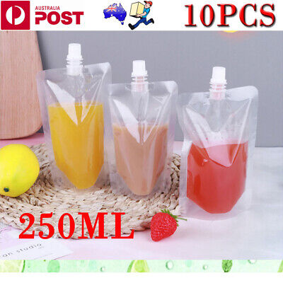 20PCS 250ml Concealable Plastic Pocket Flask Cruise Drink Alcohol