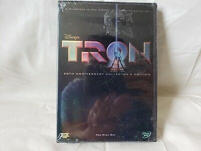 Disney Tron 20Th Anniversary Collector's Edition Thx Dvd 2 Disc Set New Sealed
