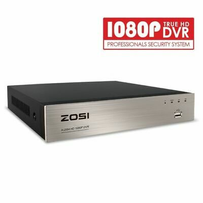 ZOSI Security DVR 8CH Channel 1080p Standalone Recorder for CCTV Camera System