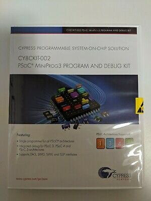 Cypress CY8CKIT-002 PSoC MiniProg3 Program and Debug Kit