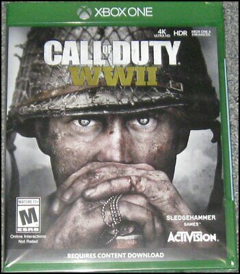 Call of Duty: WWII - Microsoft Xbox One - Brand New and Sealed
