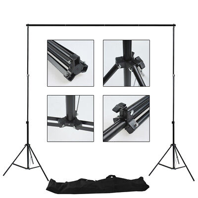 Backdrop Background Stand Photography Studio Photo 2x3m Portable Support Kit Set