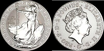 2018 Great Britain 1oz Silver Britannia Oriental Border Coin .999 Fine