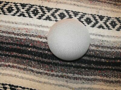 !!!~~~Very Nice~~~NWOB Chalk Google Home Mini With Google Assistant !!!