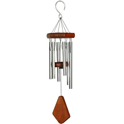 Nature's Melody PG18SV 18-Inch Premiere Grande Wind Chime - Silver