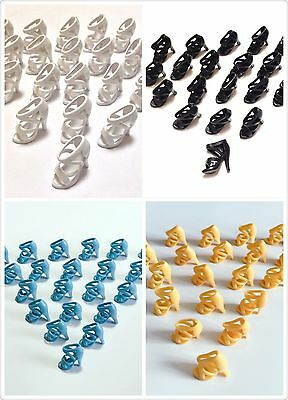 40 Pairs Shoes For Barbie dolls / Girl Gifts - 4 Color B18