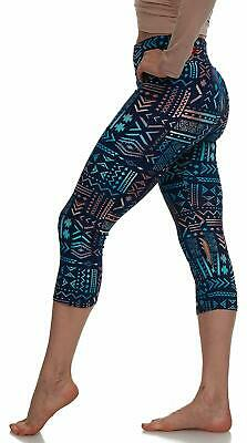 Extra Buttery Soft Capri Leggings with Design | Variety of Prints | One Size