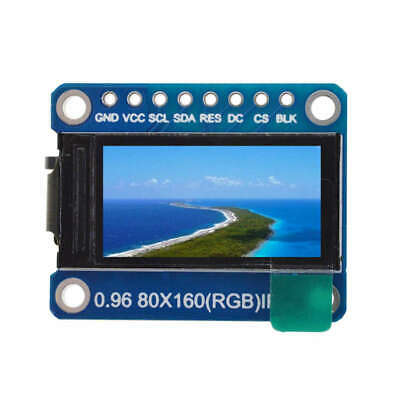 Ips 0.96 Inch 8 Pin Spi Hd 65K Full Color Tft Module St7735 Drive Ic 80 x 1 H3D6