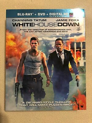 White House Down (Blu-ray + DVD) Like-New *Read