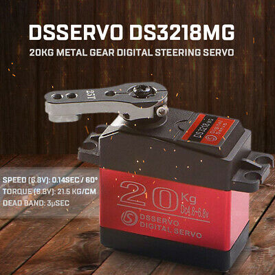 DSSERVO DS3218MG Digital Servo 20KG Torque Metal Gear RC Car Robot DEU U8C0