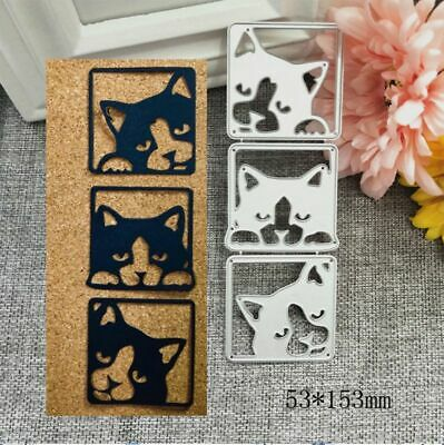 Cute Dog Metal Cutting Dies Stencil DIY Scrapbooking Paper Card Album Crafts