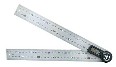 SHINWA 30cm measurement Digital protractor hold function attached 62496