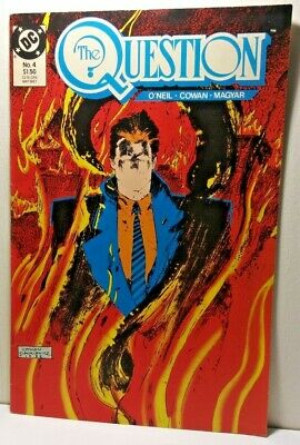 The Question Vol. 2: Poisoned Ground Dennis O'neil Rick Magyar 30 Year Old Comic