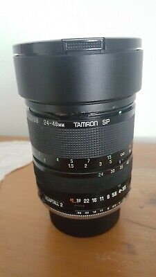 Tamron SP 24-48mm adaptall 2 Pentax K mount