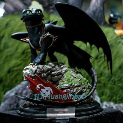 How to Train Your Dragon Toothless Statue Painted Resin Replica Pre-sale GK Hot
