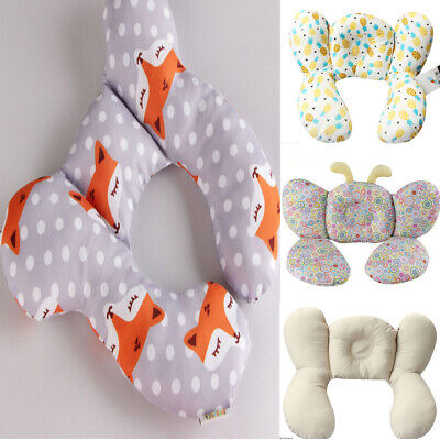 Baby Head Neck Suppot Headrest Children Travel Car Seat Pillow Stroller Cushion