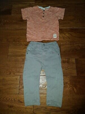 Baby Boys Zy / Blue Zoo ~ Outfit ~ Size 12-18 Months ~ Ref Box A2