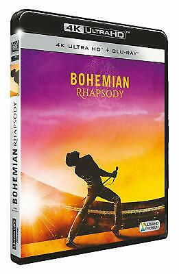 Bohemian Rhapsody 4K Ultra Hd + Blu Ray   Neuf Sous Cellophane