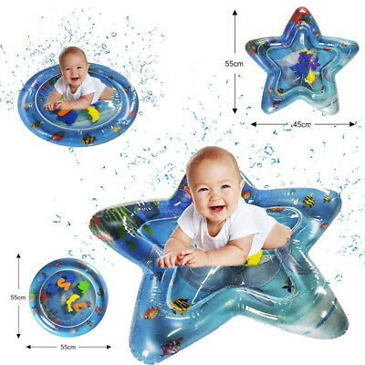 Inflatable Baby Water Mat Fun Activity Play Center for Children&Infants Cushion