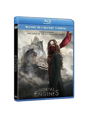 Mortal Engines (3D + 2D + Download) [Blu-ray]