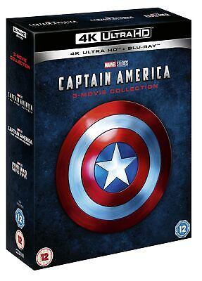 Captain America: 3-movie Collection (4K Ultra HD + Blu-ray (Boxset)) [UHD]