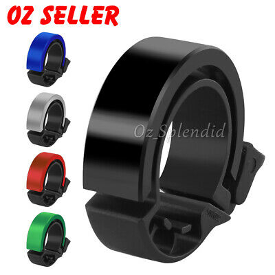 Black Aluminum Alloy Bicycle Bell MTB Bike Cycling Bell Fr Handlebar 22.2-31.8mm