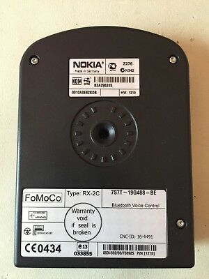 Ford Bluetooth Voice Control Module - Nokia 7S7T-19G488-BE