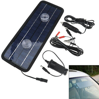 12V 4.5W Solar Energy Trickle Panel Power Portable Battery Charger Car Boat