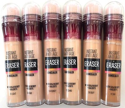 MAYBELLINE SPONGE CONCEALER ERASER 6.8ml choose your shade sealed
