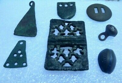 Ancient viking Broken.Pryazhki.Amulets.Rings.