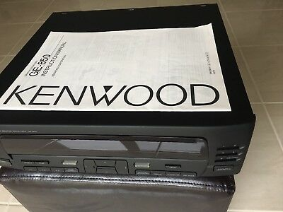 Kenwood GE 850 Digital Graphic Equalizer Brand New Condition