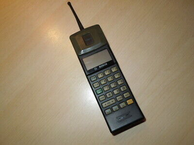 Nokia THX-1 RB, Cityman 100 Cell Phone, Bosch, Made in Finnland, 1990