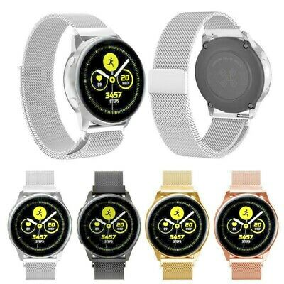 Samsung Galaxy Watch Active 42mm 46mm Band Magnetic Milanese Stainless Wristband