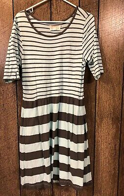 Monday Tuesday Wednesday Thursday Anthropologie Mint Cover Up Women's Large EUC