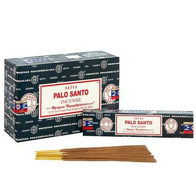 Genuine Palo Santo Incense Perfume Sticks Hand Made In India Yoga Pray Certified