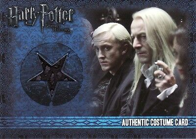Harry Potter & the Deathly Hallows Part 1 Lucius Malfoy C5 Costume Card