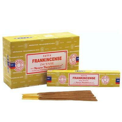 Genuine Satya Frankincense Perfume Incense Agarbatti Sticks High-quality
