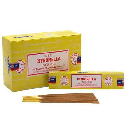 Citronella Incense Perfume Agarbatti Sticks 15g Per Box Great For Yoga Praying