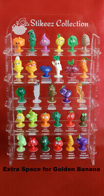 DIY Personalised Miniature Display Shelves Case for COLES RARE Stikeez Mini Shop