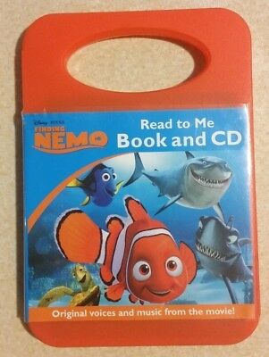 Finding Nemo: 'Read to Me'- Book and CD (2012) CHILDRENS LEARN TO READ AUDIOBOOK