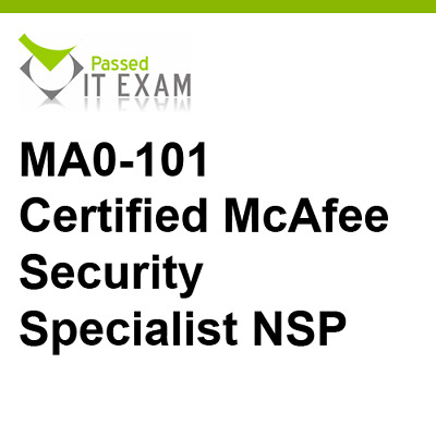 NSP MA0-101 Exam Q/&A PDF+SIM McAfee Certified Product Specialist