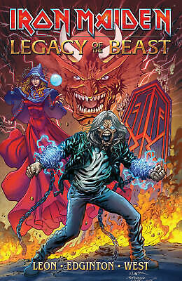 Iron Maiden Legacy Of The Beast Tp - Heavy Metal - J392 - Preorder 20.03.2019
