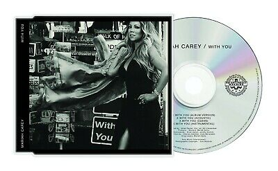 Mariah Carey - With You (Maxi Single) - Caution CD Single