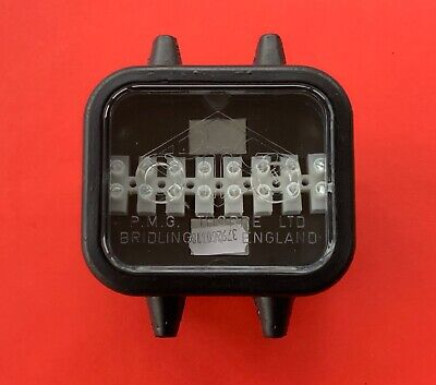 1 x BRITAX 8 Way Waterproof Electrical Junction Box for Trailers/Horsebox/Trucks
