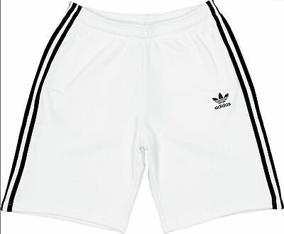 Adidas Originals Ussr Russia Retro Shorts Mens White 3 Stripes Trefoil Football Clothing, Shoes & Accessories Men's Clothing
