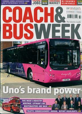 COACH & BUS WEEK MAGAZINE ISSUE 7th AUGUST 2018 ~ NEW ~